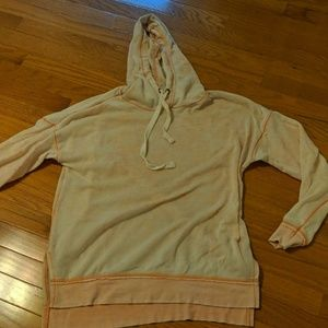 Light peach sweatshirt